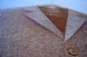 Sandpaper suit - detail 3