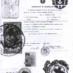 FdR certificates